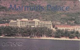 SCHEDA MARMARIS PALACE -CAMERA (E48.50.7 - Hotel Keycards