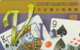 CARTA CASINO - CENTURY DIAMOND (E48.50.6 - Casino Cards