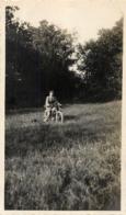 PHOTO ORIGINALE MOTOCYCLETTE  10.50 X 6.50 CM - Photos