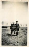 PHOTO ORIGINALE SOLDATS   11 X 7 CM - Guerra, Militari