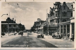 1948 SUDAFRICA , TARJETA POSTAL CIRCULADA , OXFORD STREET , EAST LONDON - Sudáfrica