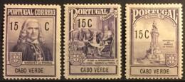 CAPE VERDE - MH*  - 1925 - # RA1/3 - Cape Verde