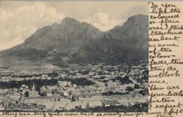 1905 SUDAFRICA , TARJETA POSTAL CIRCULADA , DEVILS PEAK , CAPE TOWN - Sudáfrica