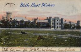 1906 SUDAFRICA , TARJETA POSTAL CIRCULADA , NEW SOMERSET HOSPITAL , CAPE TOWN - Sudáfrica