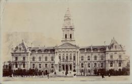1905 SUDAFRICA , TARJETA POSTAL CIRCULADA , CAPE TOWN - TOWN HALL - Sudáfrica