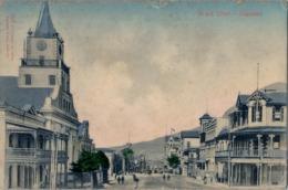 1906 SUDAFRICA , TARJETA POSTAL CIRCULADA , STRAND STREET - CAPETOWN - Südafrika