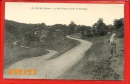 Cours Rhône - Le Bas Cours Et Route De Sevelinge - 69 Rhône - Cours-la-Ville