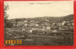 Cours - Vue Générale Coté Ouest - Chemin De Fer - Train 69 Rhône - Cours-la-Ville