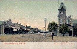 1912 SUDAFRICA , TARJETA POSTAL ESCRITA NO CIRCULADA , MAIN ROAD , BEACONSFIELD - Sudáfrica
