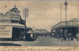 1904 SUDAFRICA , TARJETA POSTAL ESCRITA NO CIRCULADA , UPPER JONES STREET , KIMBERLEY - Sudáfrica