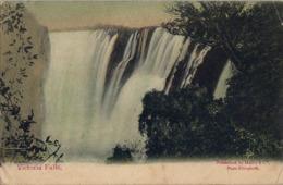 1910 SUDAFRICA , TARJETA POSTAL CIRCULADA , VICTORIA FALLS - Sudáfrica