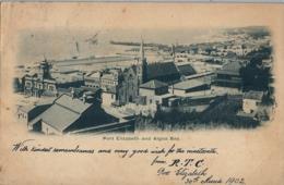 1902 SUDAFRICA , TARJETA POSTAL CIRCULADA , PORT ELIZABETH AND ALGOA BAY - Sudáfrica