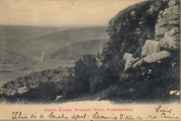 1907 SUDAFRICA , TARJETA POSTAL CIRCULADA , DASSIE KRANTZ , MOUNTAIN DRIVE , GRAHAMSTOWN - Sudáfrica