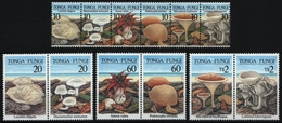 Tonga 1997 - Mi-Nr. 1494-1505 ** - MNH - Pilze / Mushrooms - Tonga (1970-...)