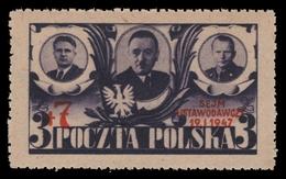 Polen 1947 - Mi-Nr. 451 ** - MNH - Parlament - 1944-.... Republik