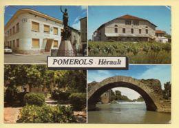 34. POMEROLS – Multivues (voir Scan Recto/verso) - France