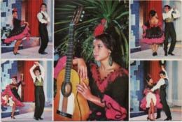 Folklore Andaluz (Basilio, Danzas De Espana). Viaggiata Non Annullata - Danze