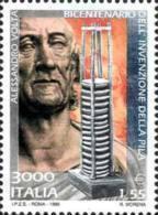 ITALIA REPUBBLICA ITALY REPUBLIC 1999 PILA DI ALESSANDRO VOLTA MNH - 1946-.. République