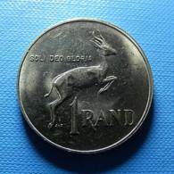 South Africa 1 Rand 1989 Medal Rotation A Little Oblique - Südafrika