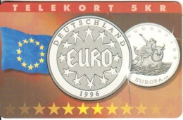 DENMARK(chip) - Deutschland 1996, Europa, Tirage 5200, 07/97, Mint - Danimarca