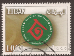 LEBANON INFLATION STAMP 1000L£ INTERNATIONAL YEAR OF THE FAMILY - Lebanon