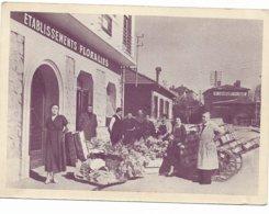 ETABLISSEMENTS FLORALIES GARE ST LAURENT DU VAR ... VOIR DOS PUBLICITE - Saint-Laurent-du-Var