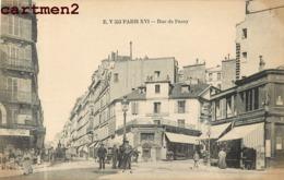 PARIS LA RUE DE PASSY ANIMEE 75016 - Arrondissement: 16