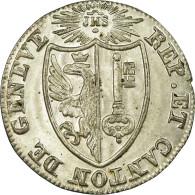 Monnaie, SWISS CANTONS, GENEVA, 1-1/2 Sol, 1825, SPL, Billon, KM:121 - Suisse