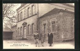 CPA Bourg-de-Thizy, Ecole Communale De Filles - Thizy