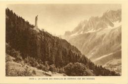 74 LES HOUCHES CHRIST ROI VALLEE DE CHAMONIX MONT BLANC  LOT 25 CARTES - Les Houches
