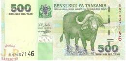 TANZANIA 500 SHILINGI 2003 PICK 35 UNC - Tanzania