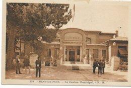 JUAN LES PINS LE CASINO MUNICIPAL  136 - Juan-les-Pins
