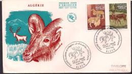 Algérie - 1968 - FDC - Faune - Espèce Protégée - Briefmarken
