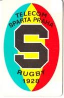 CZECHOSLOVAKIA(chip) - Sparta Praha Rugby 1928, Chip SC5, Tirage %30500, 05/92, Used - Tchécoslovaquie