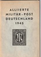 Johannes Link - Alliert Miltär Post Deutschland 1945 - Spezial Bearbeitung Und Katalog - 1959 - Manuali