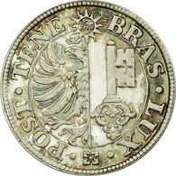 Monnaie, SWISS CANTONS, GENEVA, Centime, 1839, Prooflike, SPL, Argent, KM:125a - Suisse