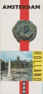 Brochure About Amsterdam - General Information - Map - Tourist Attractions - En Esperanto - 1966 - Toeristische Brochures