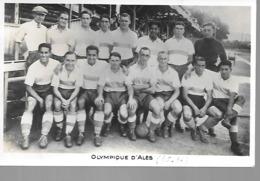 "30 ALèS PHOTO DE ""L""EQUIPE DE FOOTBALL EN 1935 / 1936"" - Alès"