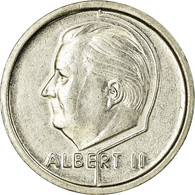 Monnaie, Belgique, Albert II, Franc, 1995, TB+, Nickel Plated Iron, KM:188 - 02. 1 Franc