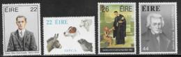 Ireland Scott # 568-70,572 MNH Various Subjects, 1983 - 1949-... Republic Of Ireland