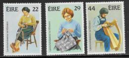 Ireland Scott # 575,577-8 MNH Handicrafts, 1983 - 1949-... Republic Of Ireland