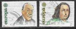 Ireland Scott # 616-7 Used Europa, 1985 - Used Stamps