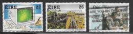 Ireland Scott # 646-8 Used Institution Of Engineers Anniv., 1985 - Used Stamps