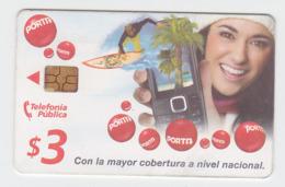ECUADOR PORTA PREPAID CHIP PHONECARD USED - Ecuador