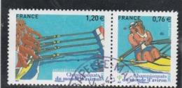 FRANCE 2015 CHAMPIONNATS DU MONDE D AVIRON YT 4973+4974  OBLITERE - Oblitérés