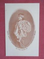 Santo Domingo Basket Seller  ------- Published E & G Grist - Ref 3642 - Indiens De L'Amerique Du Nord