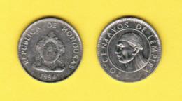 HONDURAS  20 CENTAVOS 1994 (KM # 83.1a) #5423 - Honduras