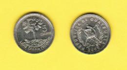 GUATAMALA  5 CENTAVOS 2000 (KM # 276.6) #5426 - Guatemala