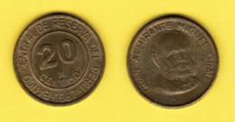 PERU  20 CENTIMOS 1987 (KM # 294) #5428 - Perú