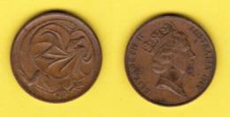 AUSTRALIA  2 CENTS 1982 (KM # 63) #5431 - 2 Cents